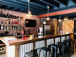 Pub like basement reno