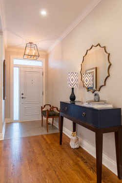 Transitional Classic Entrance