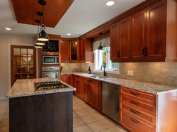 Rich and dramatic Kitchen