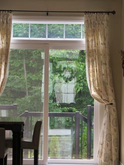 Quartz Dinette drapes / rideaux
