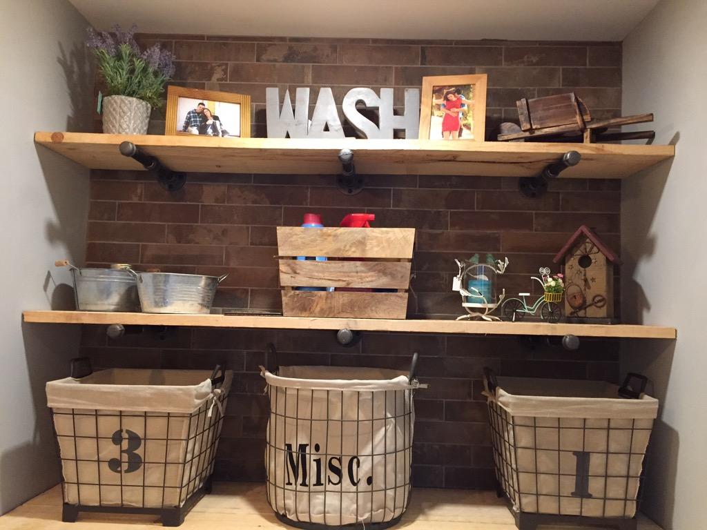 Rustic Laundry / Lessive Rustic
