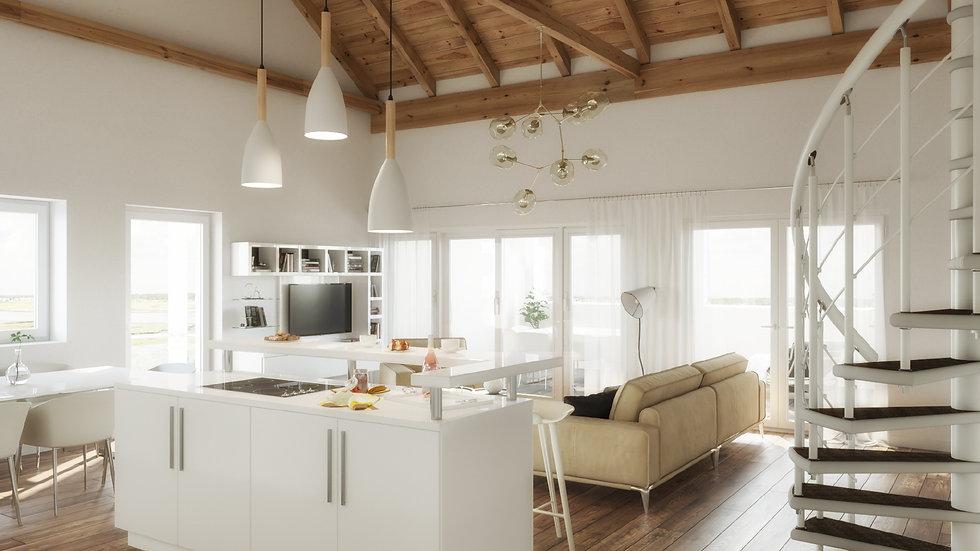 Wohnung mit ZWEI-SEEN-BLICK, 9122 St. Kanzian