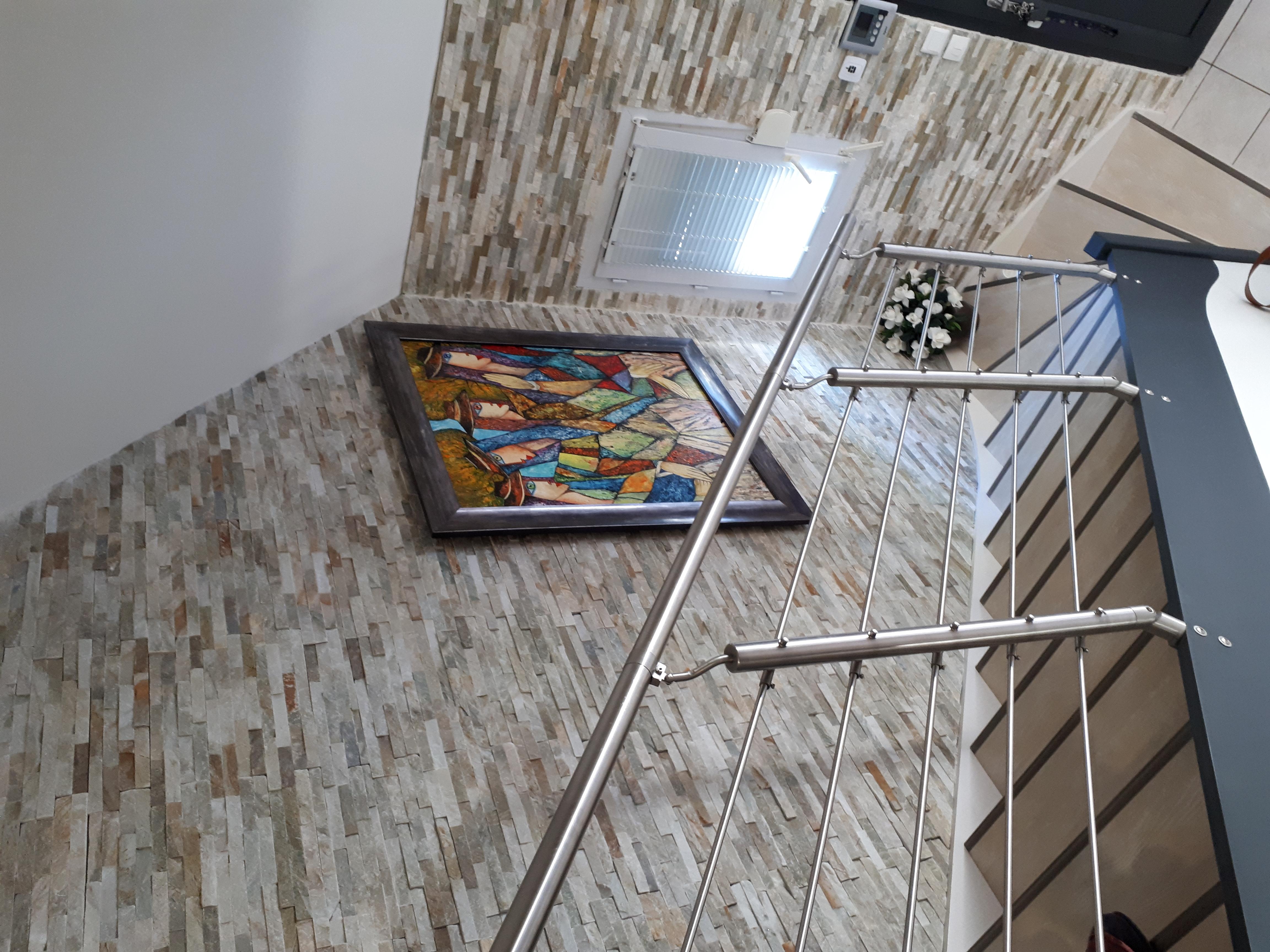 Rénovation escalier et Inox