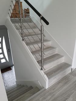 Rénovation escalier bois et escalier béton