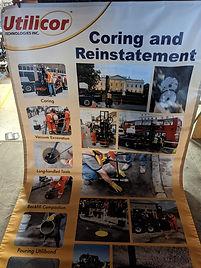 Utilicor Coring and Reinstatement Banner