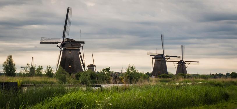 Windmills at Kinderdijk