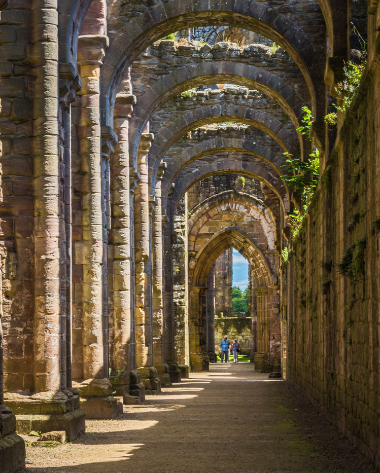 South Aisle Fountains Abbey