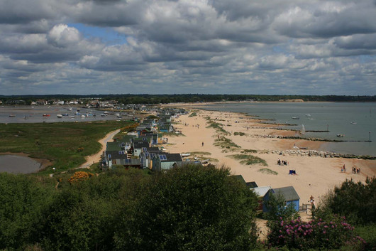 An Early Summers Day at Hengistbury