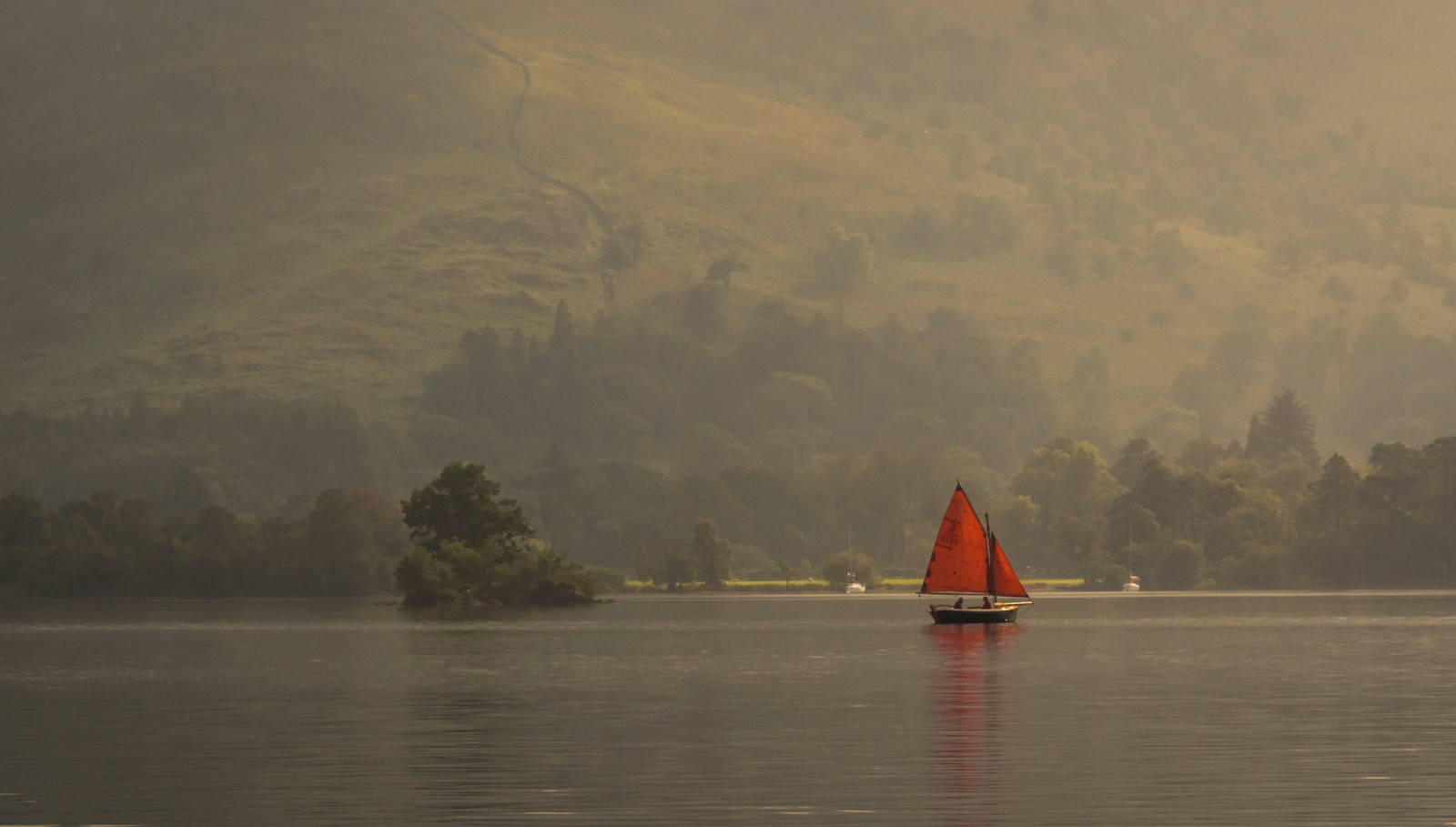 Alone on Ullswater