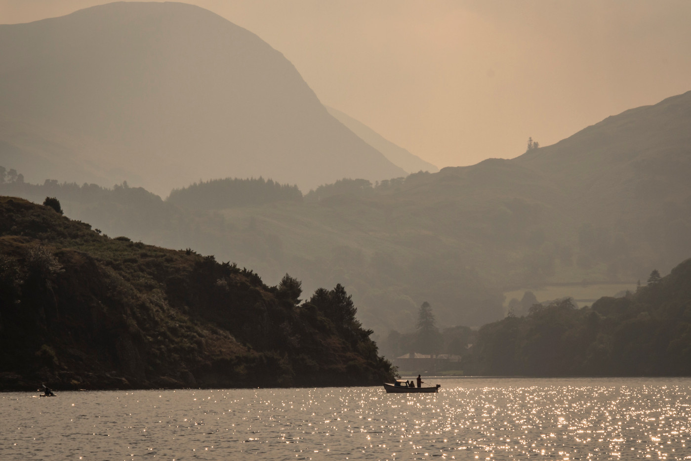 Fishing on Ullswater