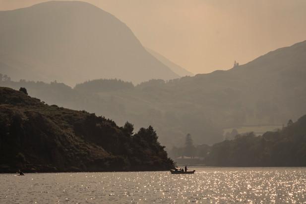 Fishing on Ullswater