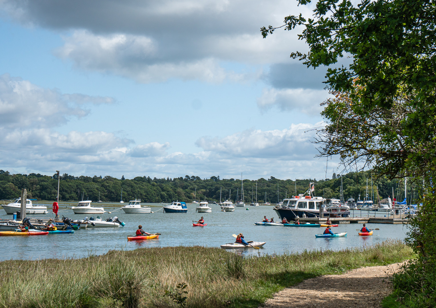 Kayak School, Beaulieu River