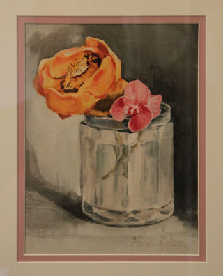 Rose and Pansy