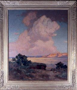 Thunderhead Over The Desert