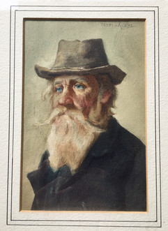 White Bearded Old Man