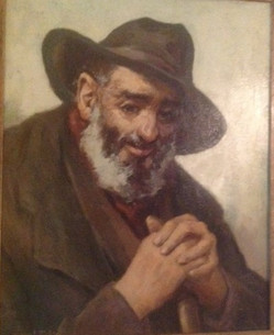 Old Bearded Man With Hat