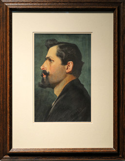 European Man With Mustache