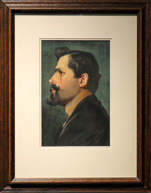 European Man With Mustache