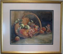 Fruit Basket with Hummel Figure.jpg
