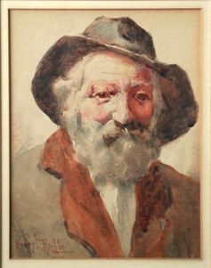 Old Bearded Mountain Man