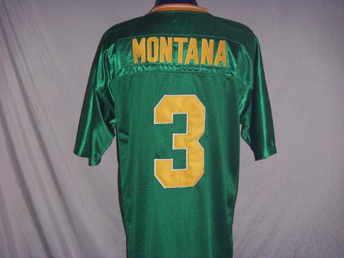 eb4698465dd Vintage Sportswear Joe Montana Notre Dame Fighting Irish (1977)