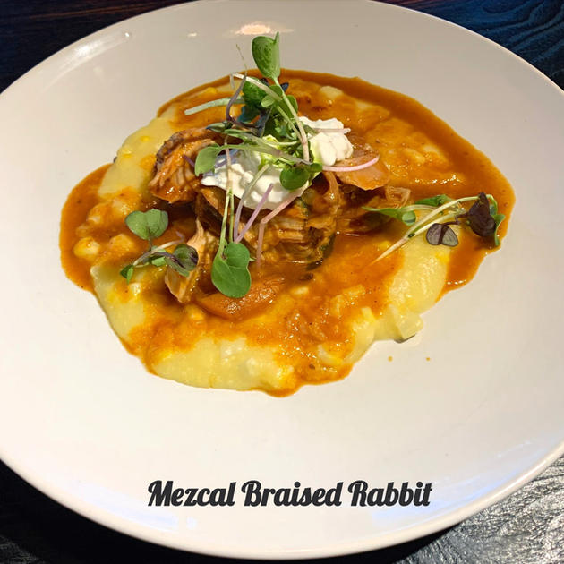 Mezcal Braised Rabbit