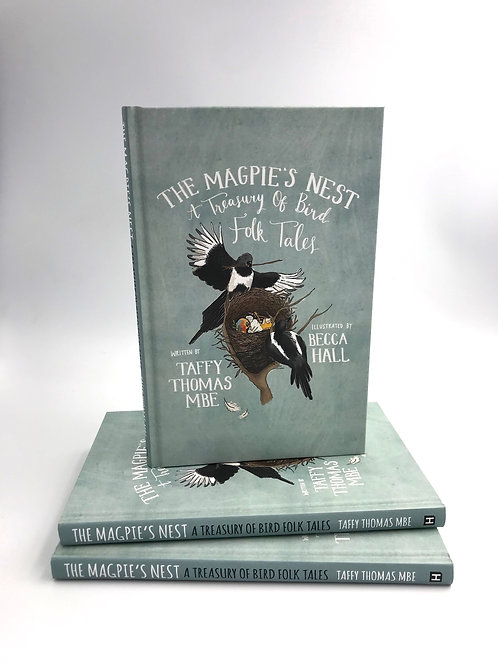 The Magpie's Nest Folk Tales - Signed by the illustrator!