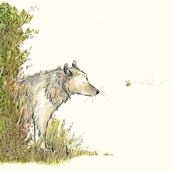 Wolf and Bee
