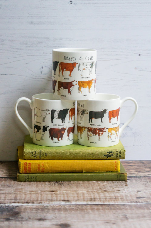 Mug - Breeds of Cows