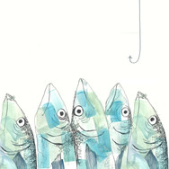 Fish with Hook