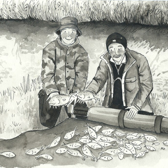 Fishing with Father