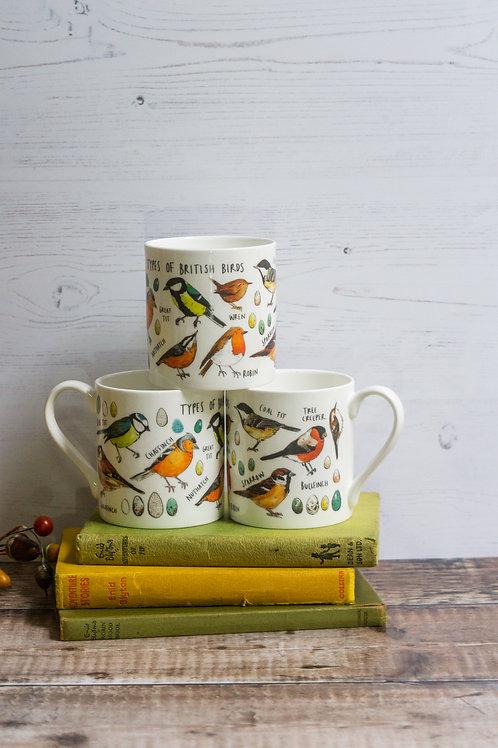 Mug - Types of Birds