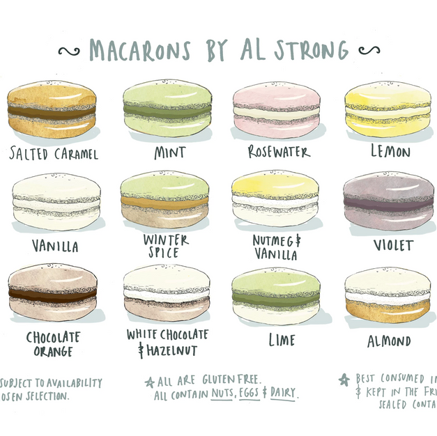 Macarons By Al Strong