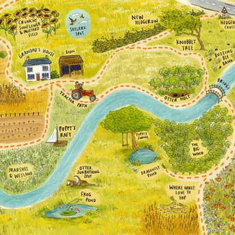 Poppy Goes Wild Map