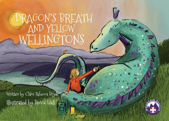 Dragons Breath and Yellow Wellingtons