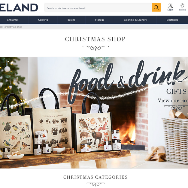 LAKELAND Front of Website 2019