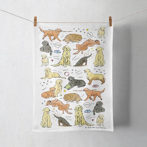 Tea Towel - Retriever / Labrador