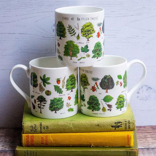 Mug - Types of Trees