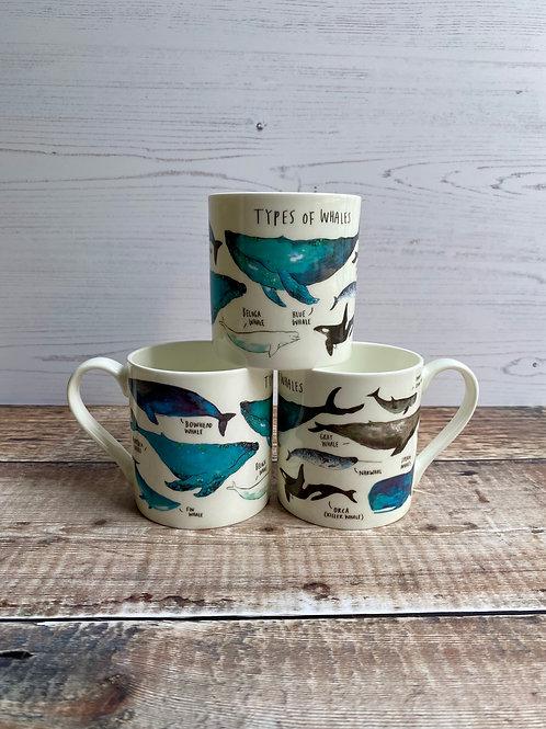 Mug - Types of Whales