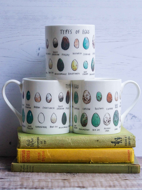 Mug - Types of Eggs