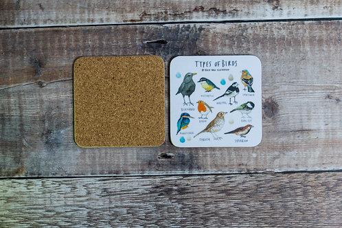 Coaster - Types of Birds