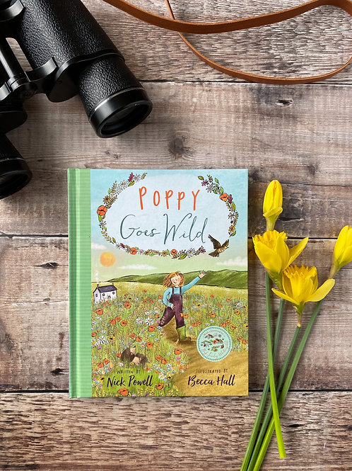 Poppy Goes Wild - Signed by the illustrator!