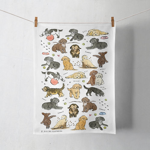 Tea Towel - Cockapoo