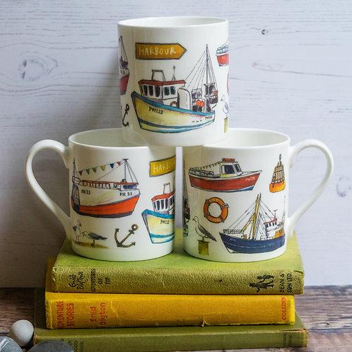 Mug - Fishing Boats