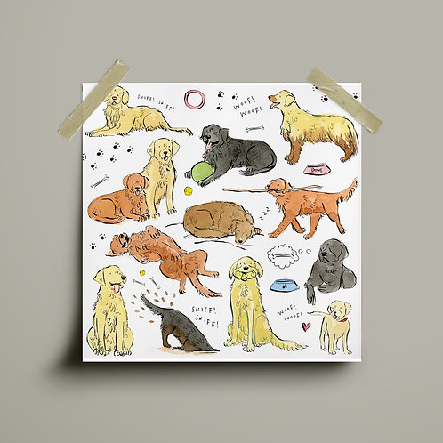Print - Labrador Retriever