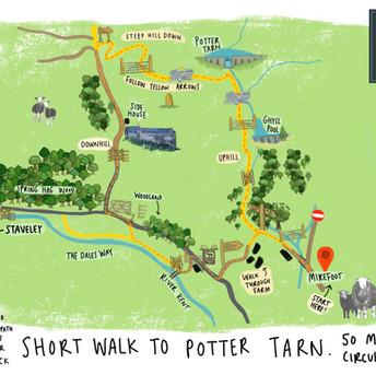 Potter Tarn Walk