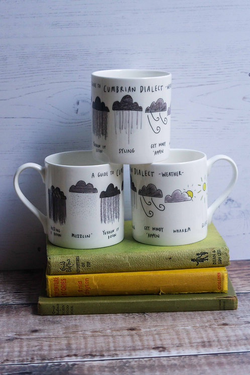 Mug - Cumbrian Dialect Weather