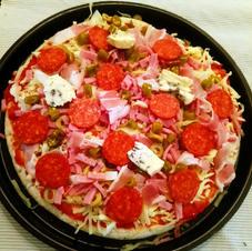 Klubbens pizza