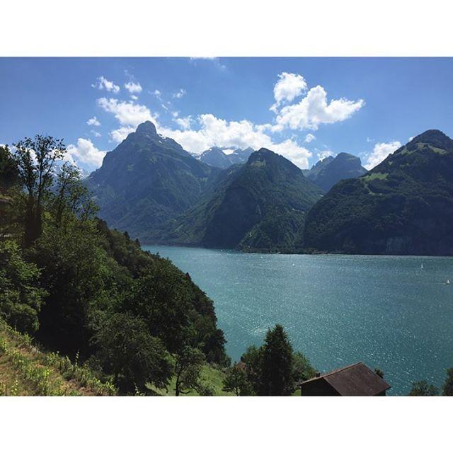 #view from #Tellskapelle on #Alps #Gitschen #Brunnistock #Vierwaldstättersee #Switzerland #Schweiz