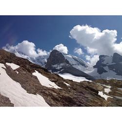 #Blüemlisalphorn from #west side #Bernese #Alps #Kandersteg #Reichenbach im #Kandertal